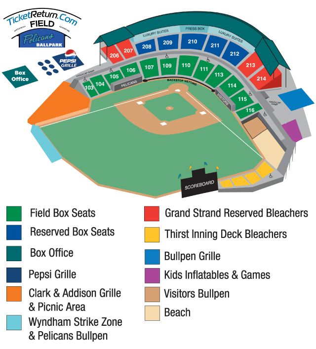 Lakewood Blueclaws Seating Chart Lakewood Blueclaws