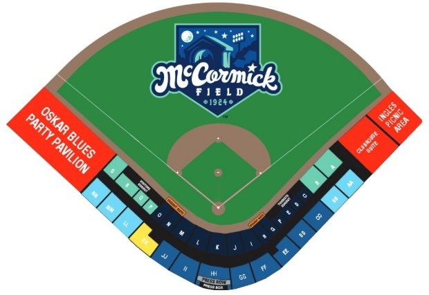 Hagerstown Suns Vs Asheville Tourists Tall Pines