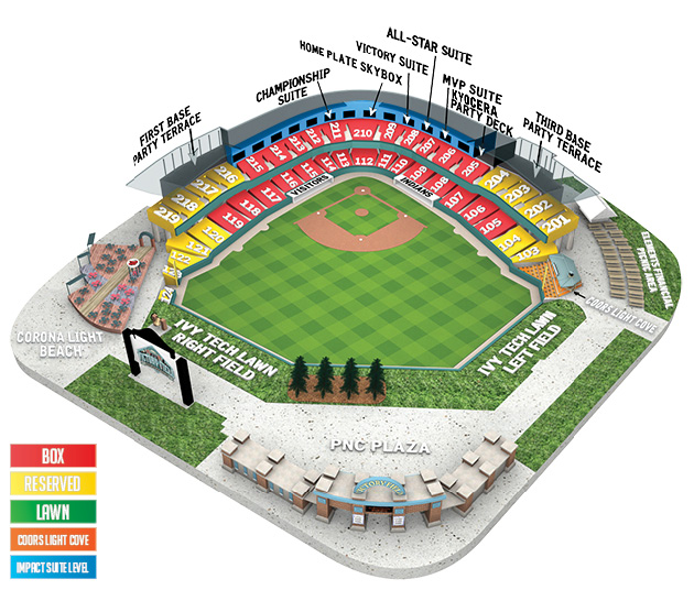Gwinnett Braves Seating Chart Coolray Field Seating